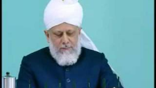 Friday Sermon: 1st January 2010 - Part 5 (Urdu)