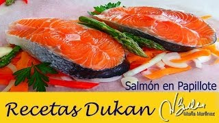 salmon dukan en papillote olla gm y horno fase crucero dukan salmon green asparagous parcels