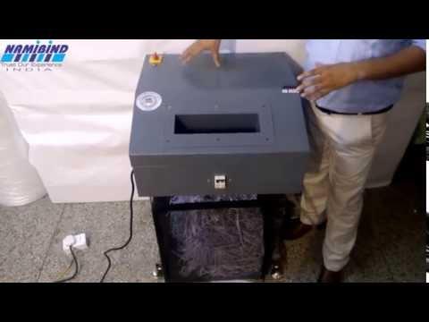NAMIBIND Heavy Duty Industrial Shredding Machine