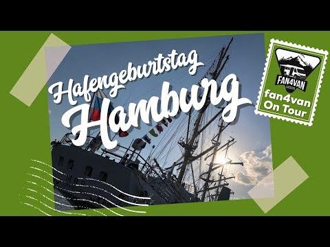 Hafengeburtstag Hamburg 2018 und Feuerwerk - ein Reisebericht