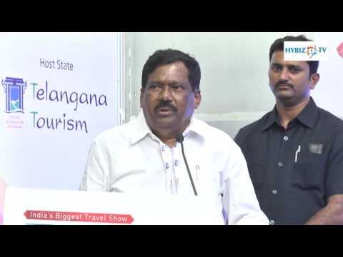 Azmeera Chandulal Telangana Tourism Minister - Travel and Tourism Fair 2016