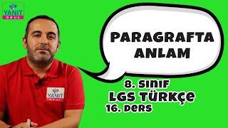 Paragrafta Anlam | 2021 LGS Türkçe Konu Anlatımları #8trkc