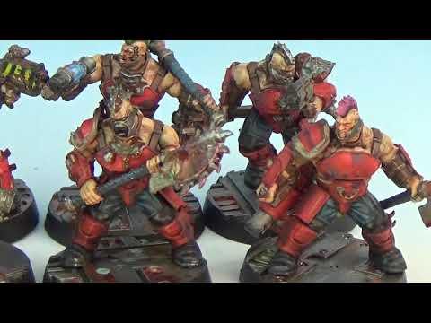 Necromunda Goliath Gang - Painted Showcase