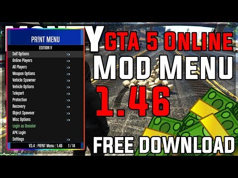 GTA 5 Online Money Cheat 1.46   GTA 5 Online PR!NT Menu 1.46 [Undetected] [English] PC