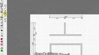 002 Рисование прямых стен в ArCon 3D