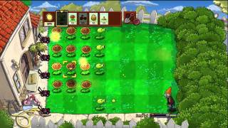 Plants vs Zombies (XBLA) Walkthrough: Levels 1-5 to 1-7