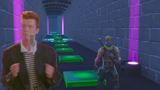 I Made Never Gonna Give You Up With Fortnite Music Blocks