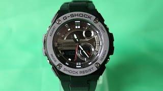 G-SHOCK GST-210B-1A | Огляд і настройка (російською) | Купити зі знижкою