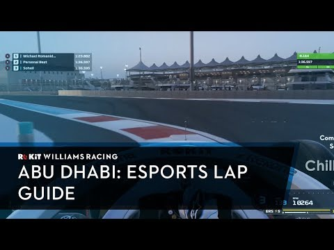Join Williams Esports for a hot lap of Yas Marina!