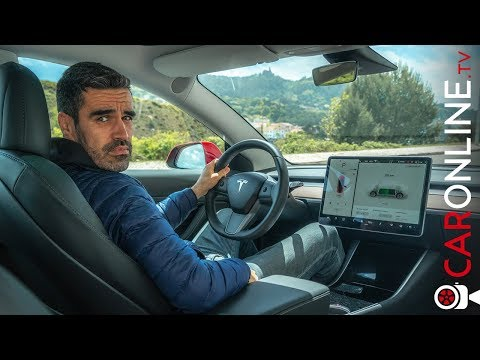 VOLANTE e TABLET chega? | TESLA Model 3 [Review Portugal]