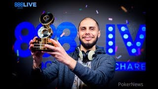 888poker Live Bucharest Champion Darius Neagoe