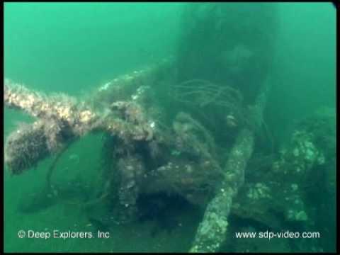 Underwater Train Wreck