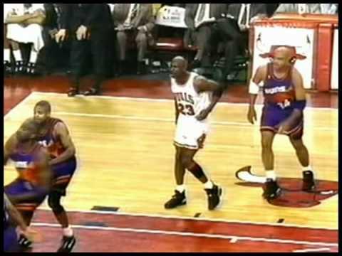 2032a31da5db Michael Jordan Highlights (41pts-7rebs-7asts) vs.Suns  Game 5- 93 Finals