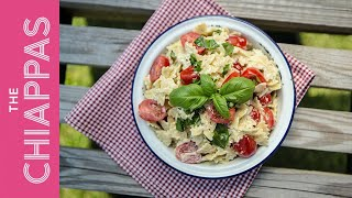 Caprese Pasta Salad | #dishdilemmas