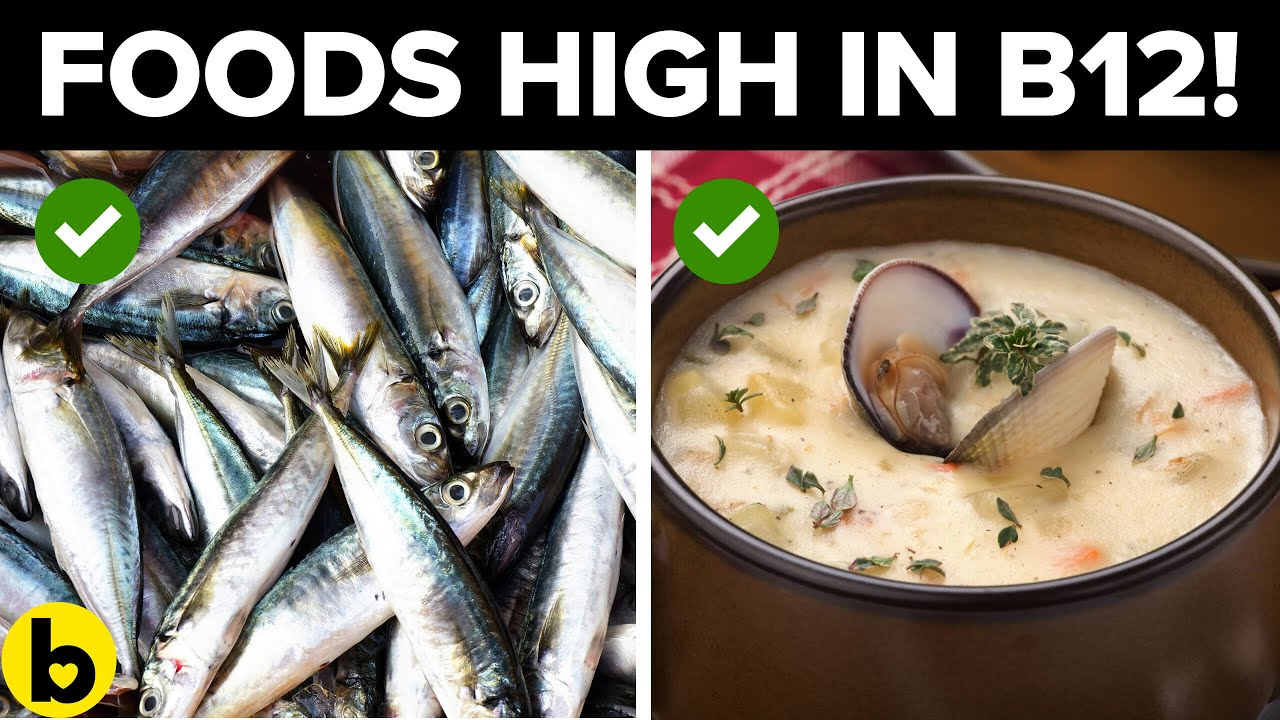 Top 6 Meals that are high in Vitamin B12!