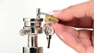Deluxe Edelstahl Asslock Anal Plug (Ø 30-60 mm) mega schwer (800 Gramm), by Lumunu passion products