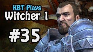 #35 - Jacques de Aldersberg FINALE! | The Witcher 1 Playthrough