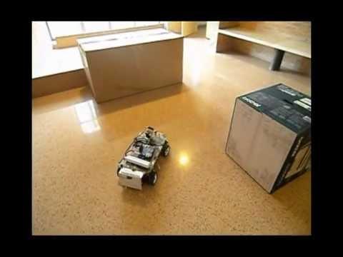Automated car-like vehicle. PFC Telecom. Eng. University of Alicante (Spain)