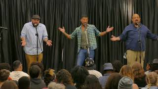 "2017 National Poetry Slam Group Piece Finals - PuroSlam ""Mexican-American"""