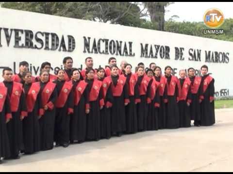 HIMNO UNIVERSITARIO DE LA UNIVERSIDAD NACIONAL MAYOR DE SAN MARCOS