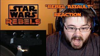 """Star Wars Rebels - Se4 Ep9 - """"Rebel Assault"""" - Reaction"""