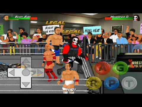 WN - wrestling revolution para android hackeado con licencia pro