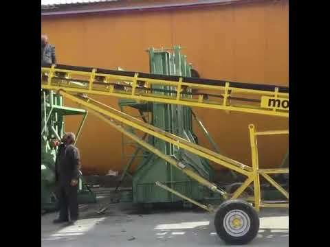 PC10 Towed Concrete Belt Conveyor System - monoser® Concrete Placing Systems