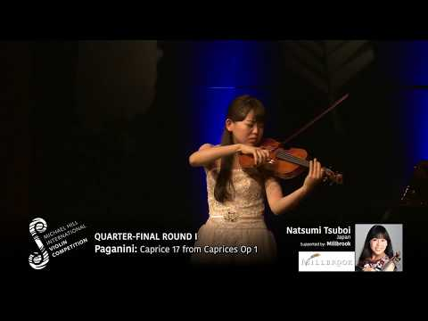 2017 Round #1 Competitor #7 N Tsuboi | Paganini: Caprice 17 from Caprices Op 1