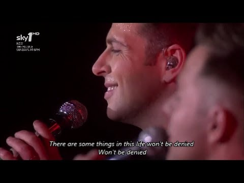 Westlife - Swear It Again with Lyrics, Where We Are Tour
