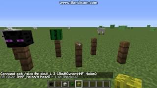 Player Head Command Minecraft - Minecraft spielerkopfe 1 8