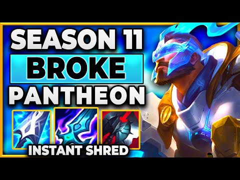 THIS BUILD BREAKS PANTHEON (INSTANT SHRED) - BunnyFuFuu | League of Legends