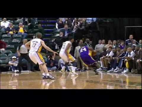 Kobe Bryant 31pts vs Indiana Pacers (2010-2011)