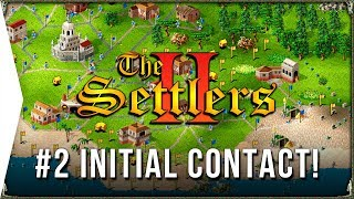The Settlers 2 ► #2 Initial Contact - Roman Campaign & Retro RTS City-building Gameplay!