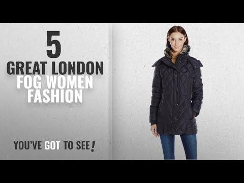London Fog Women Fashion [2018 Best Sellers]: London Fog Women's Faux Fur Collar 30