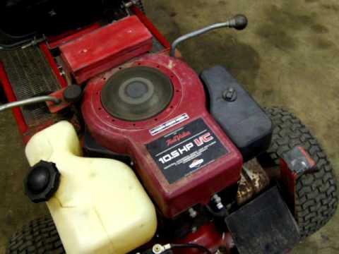 10 5 Hp Briggs And Stratton Engine Demo 29 Dec 15 Youtube
