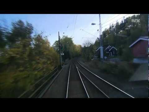 Train Norway - Bergens Banen 5/6 HD