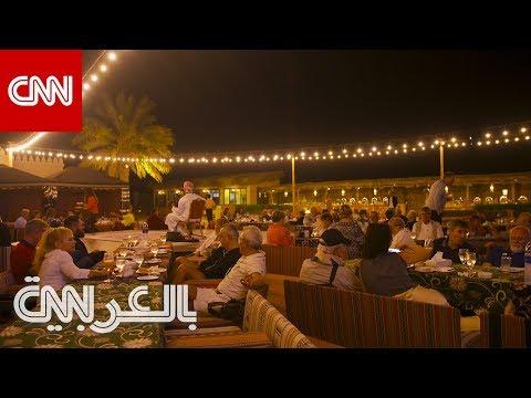 قرية وسط صحراء أبوظبي تعكس الخط الزمني لتطور منازل البدو  - 11:00-2020 / 1 / 14