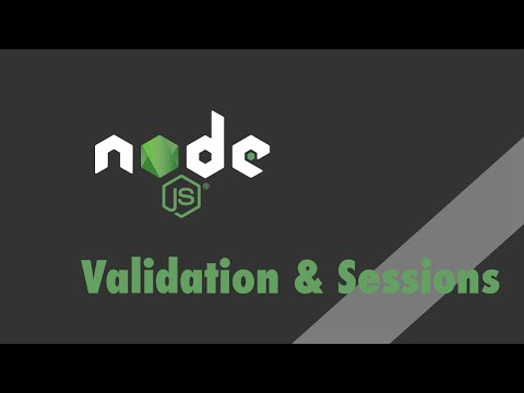 Node js + Express - Tutorial - Express-Validator and Express