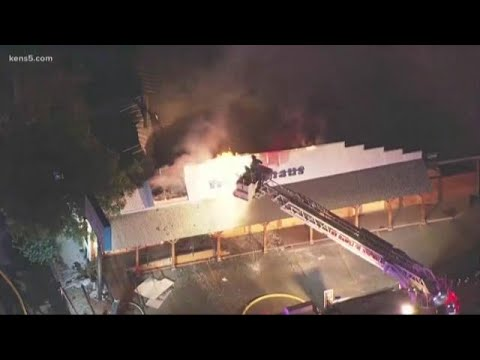VIDEO: Large fire breaks out at New Braunfels restaurant