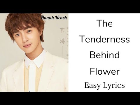 The Tenderness behind Flower - Darren Chen (Easy Lyrics)