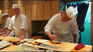 Sushi Chef in Tokyo - Dedication, Passion, Perfection