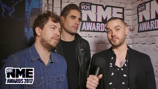 Busted on their love for Metallica - VO5 NME Awards 2017