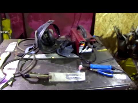 TIG Сварка алюминия на постоянном токе, обычным инвертором  DC.