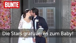 Baby-Glückwünsche von den deutschen Stars - Sofia von Schweden  - BUNTE TV