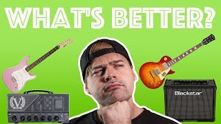 good guitar/bad amp vs bad guitar/good amp