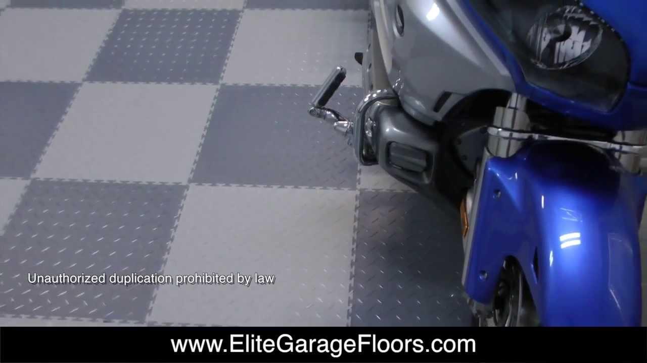 Flexi tiles interlocking pvc floor tiles for cruisemans garage flexi tiles interlocking pvc floor tiles for cruisemans garage youtube dailygadgetfo Image collections