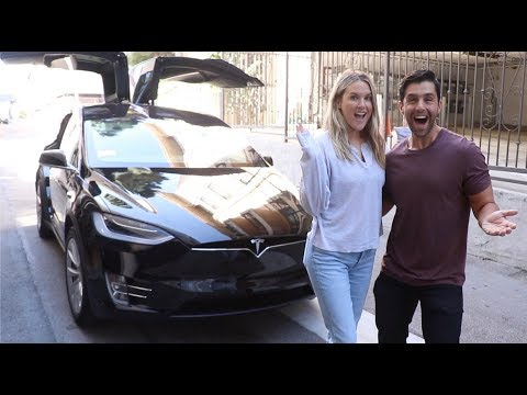 SURPRISING MY WIFE WITH A NEW TESLA!!