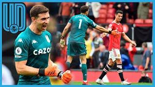 """'Dibu' Martínez se acercó al manchón penal y retó a Cristiano Ronaldo a que fuera él, quien cobrara el disparo, """"Vení, patealo vos, vení""""."""