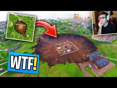 Dusty Depot REPLACED By Dusty Divot In Fortnite! (Season 4 NEW MAP Reaction!)