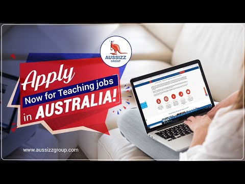 Apply Now For Teaching Jobs In Australia!